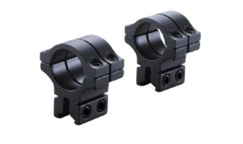 "BKL 463 1"" scope tube Double Strap Dovetail Mount Rings for 14mm/BSA Maxigrip dovetail rails"